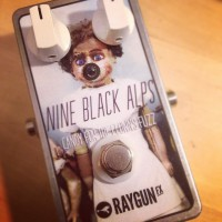 Custom pedals for Nine Black Alps