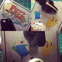Adventure Time FUZZ pedal