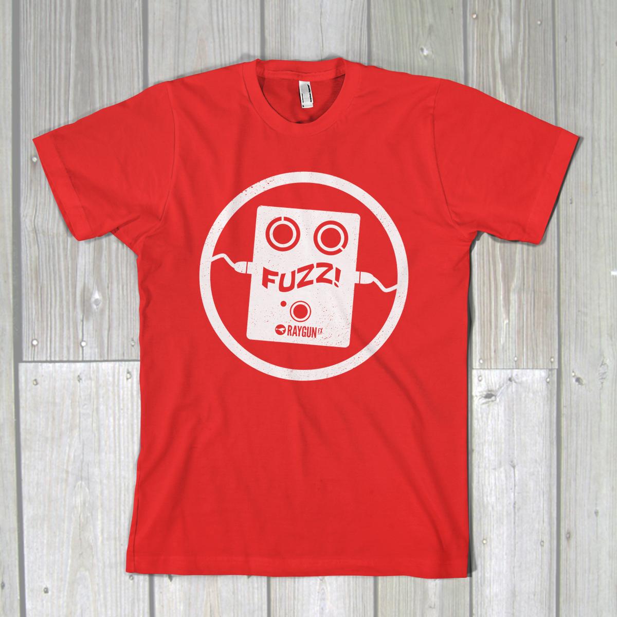 fuzz-tshirt-red